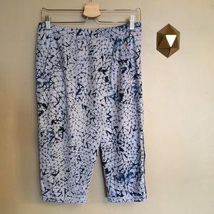 Lululemon Retreat Yogi Crop Pants Blue Shibori 6